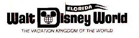 WDW logo with Florida pennant