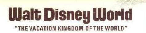 WDW logo before Florida pennant was added