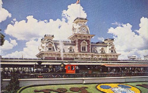 WALT DISNEY WORLD STEAM RAILROAD
